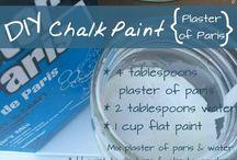chalk verf resepte
