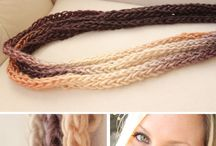 craft: tricotin (spool knitting )
