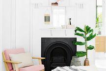 Living room & pillows