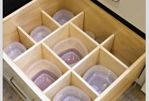 Tupperware organizer