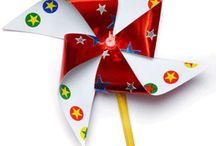 4th of July Crafts / http://www.hyglossproducts.com/Fourth-of-July-Crafts-s/301.htm / by Lorie Denhardt