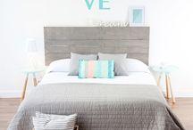 ADecoración camas patinadas