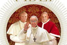 Imago fidei. Trois papes sur les traces de Pierre: Jean XXIII, Jean Paul II, François / «Tu es Pierre et sur cette pierre je bậtirai mon église»