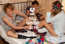 COLLECTION FALL / WINTER 2015 / SOCKS, PATTERN, COLORS, FASHION !!