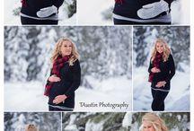 Winter Outdoor Photo Shoot Inspiration