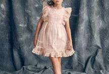 Pink & Peach Flower Girl Dresses