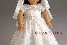 Dolls clothes bridal