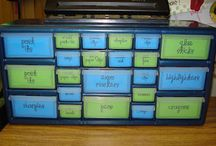 "Mommy School ""Organization"" / by Gina Grillion"