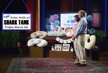 Shark Tank Twin Z Pillow / Come watch us swim with the sharks!