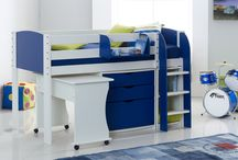 Kids Beds / Scallywag's Children's 1st Bed, Box Room Beds, Cabin Beds, High Sleeper Beds, Bunk Beds, Chest of Drawers, Cupboards, Bookcase, Shelf, Toy Box, Sleepover Beds, Chair Beds, Futons. Colour Options Pink, Blue, White, Red, Black, Lime, Lilac, Purple. Designed & manufactured in Yorkshire, UK