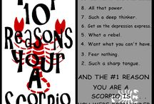Me, As A Scorpio / by Novira Camelia