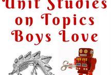 Boy Themed Learning