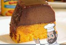 Bolo,  pavê  e tortas doces