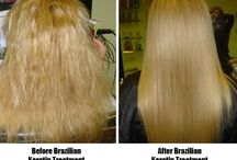 Keratin treatments / The look and benefits of a Keratin treatment (Brazilian) treatments