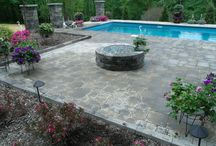Poolside / American Beauty Landscaping can enhance your existing swimming pool with beautiful plantings, and hardscaping, or custom design a pool for your family to enjoy.