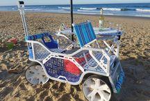 Sea Wagen for beach