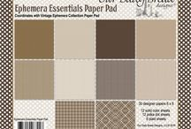 ODBD Ephemera Essentials Paper Pad