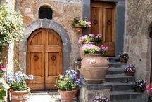 Beautiful pots walls