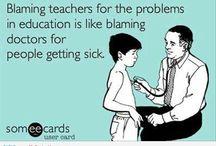 The joys of teaching!