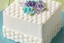 decoraciones tortas con crema