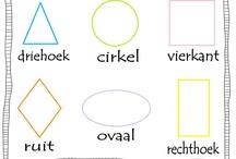 Onderwijs: thema kleuren en vormen