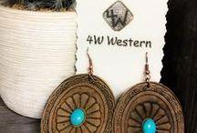 Jewelry!! / Women's fashion #Jewelry!  Who doesn't love #earrings, #necklaces, #rings & #bracelets?!?!?  www.4western.com