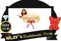 Bekarlığa Veda Konsepti (Bachelorette Party) / www.bayancini.com Tasarımıdır. Daha Çok Konsept ve Hediyelikler İçin Sayfamız Bekleriz.