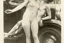 Naked Vintage / Please only woman very soft pictures