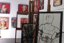 In the Studio of Yolanda Gonzalez