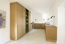 Tuborgvej / Intriguing Scandinavian carpenter kitchen in a traditional architectural setting. Design and production by Nicolaj Bo™ in Copenhagen, Denmark.
