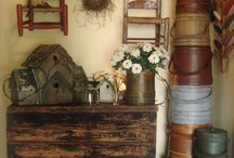 Primitives / For the love of everything Prim ... Primitive ... Antique ... and Grubby / by Jodi Allen