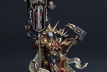 Warhammer Age of Sigmar and 40000