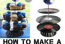 rock n roll wedding cake