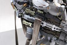 Gundams and mechs
