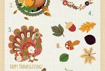 Tableau de saison : Thanksgiving