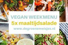 Vegetarische weekmenu's / Vegetarische weekmenu's #vegetarisch