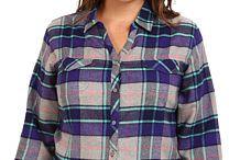 P l u s   S i z e: Flannel Shirts