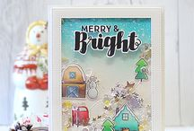 scrapbooking and card's