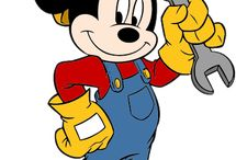 Farsang - Mickey és Minnie