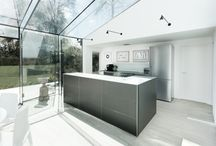 Case Study - GlassHouse Kitchen / A contemporary bulthaup b3 kitchen designed and installed by hobsons|choice in a new glasshouse property extension.  Architecture by AR Design Photography by Martin Gardner