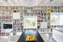 home office/bookshelf