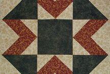 Quilting Tutorials / My tutorials for quilt blocks from americanhomestead.blogspot.com and chock-a-blockquiltblocks,blogspot.com
