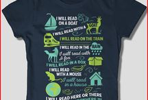 Bookish Attire / Fun things to wear to show my love of children's books!