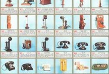 Antique Telephones / Telephones of the Past / by MJ B