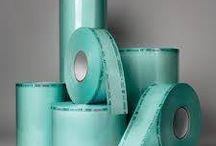 Rollos Bolsa de Esterilizar, Papel Crepado y Cinta Testigo / Rollos bolsa de Esterilizar y Cinta Testigo www.insumosdentales.com Cel: 3143834784-3202276933