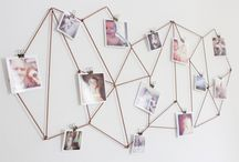 Creative ways to hang posters and pictures