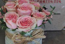 Cajas con flores / Colección de cajas con flores ideales para regalar...