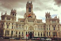 Ayuntamiento de Madrid / Uno de los edificios más bellos de la ciudad de Madrid y actual sede del Ayuntamiento. Uno de los primeros ejemplos de la arquitectura modernista en España.