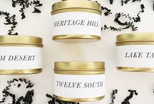 Fairly Modern Home Collection / Proudly hand poured, soy wax, phlalate free candles inspired by places around the world.