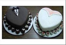 Wedding rehearsal dinner cakes! / by Vicki Pass